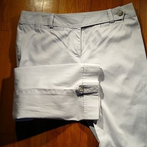 Ann Taylor mid calf pants in Chino